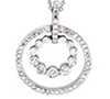 Diamond Pendants & Necklaces